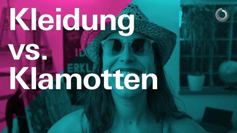 Kleidung und Klamotten auf Deutsch — Learn German with Ida | Ida erklärt