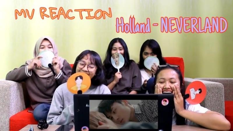 Male K-pop Idol Kissing Each Other - MV Reaction - Holland NEVERLAND