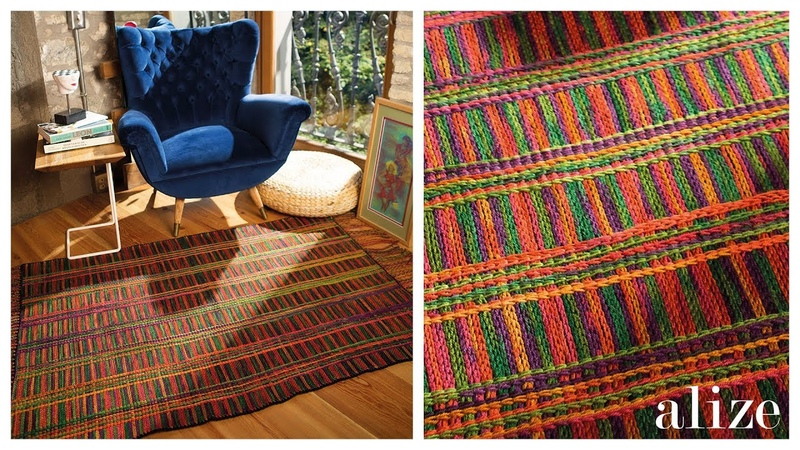 Kilim Yapımı Making Rug Ekstra Folklorik Batik