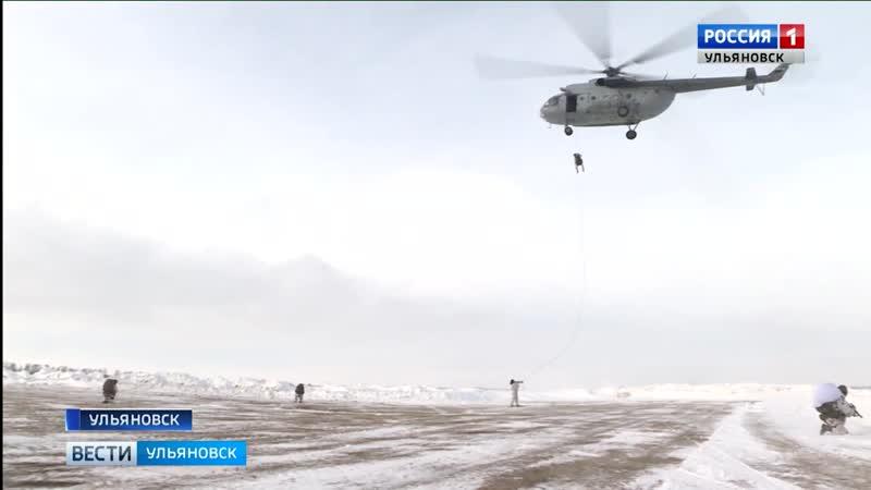 В Ульяновске состоялись занятия по беспарашютному десантированию с сотрудниками спецподразделений регионального Управления Росгв
