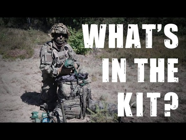 What's in the backpack of a 🇵🇱Polish Paratrooper?