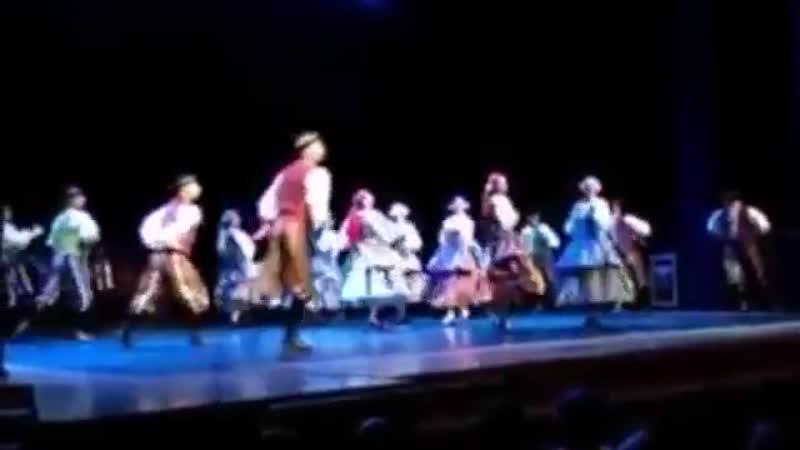 ансамбль Грузии Сухишвили - Польский танец (03.02.2019)