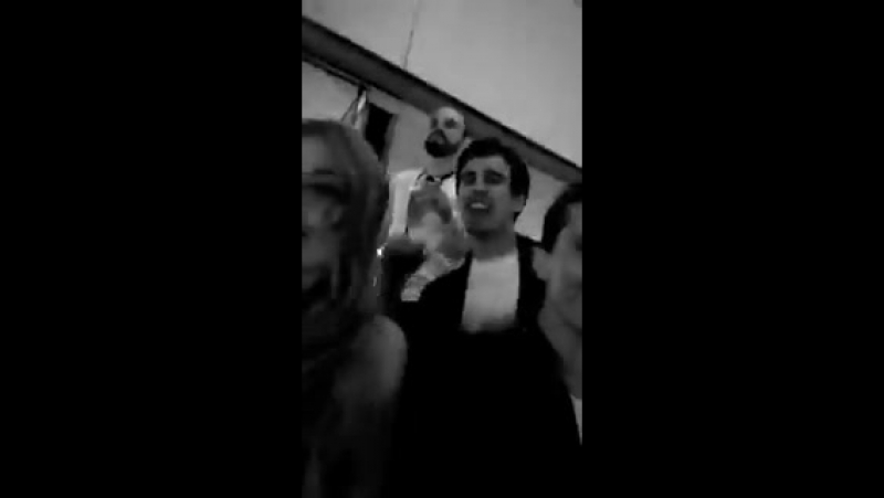 EVENTO KatherineMcNamara AlbertoRosende LukeBaines @Kat McNamara @arosende @LukeBaines @Diego Rosende bailando al ritmo de L