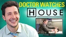 Real Doctor Reacts to HOUSE M D Medical Drama Review Doctor Mike