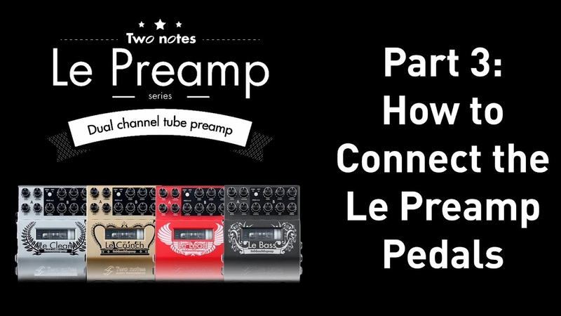 How to get a better guitar tone with preamps.