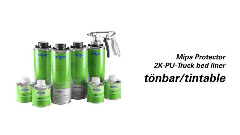 Mipa Protector 2K-PU-Truck bed liner tönbar