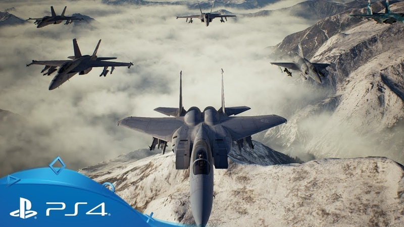 Ace Combat 7 Skies Unknown | Release Date Trailer | PS4