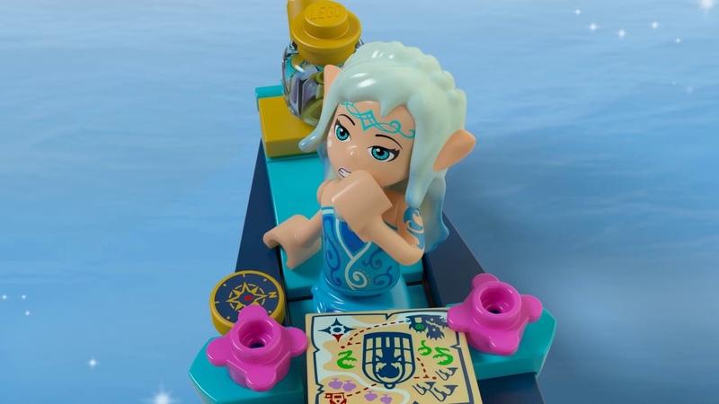 Набор LEGO ELVES 41181 Гондола Наиды и гоблин-воришка