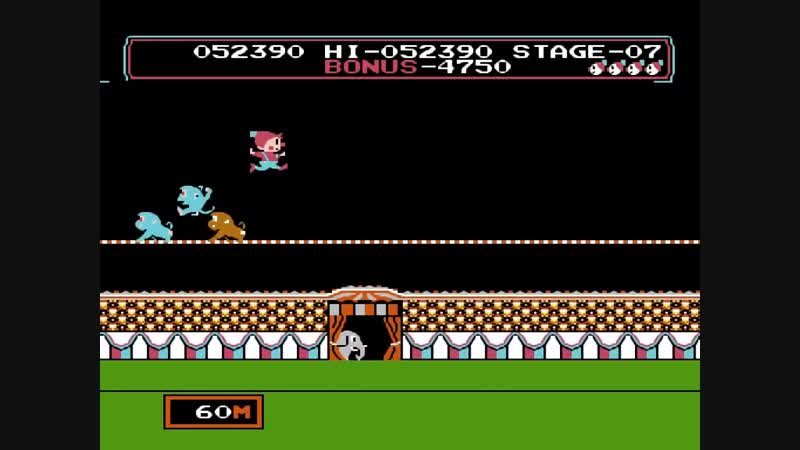 CIRCUS CHARLIE. NES,DENDY by Maddoxx RetroGames
