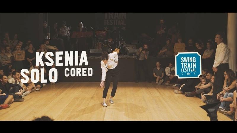 KSENIA SOLO COREO - Swing Train Festival 2018 - IV Ed.