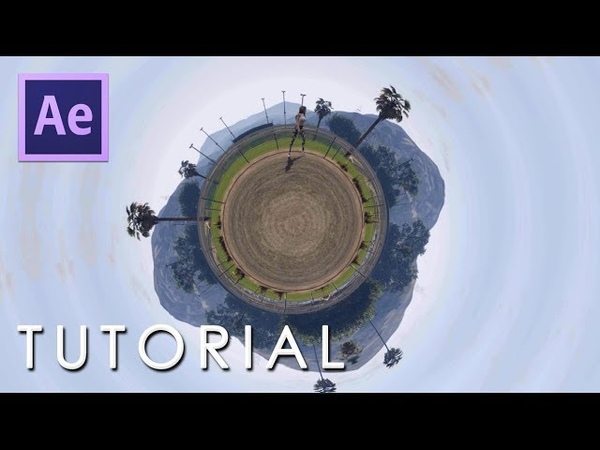 After Effects Tutorial Create Revolve 360 Video