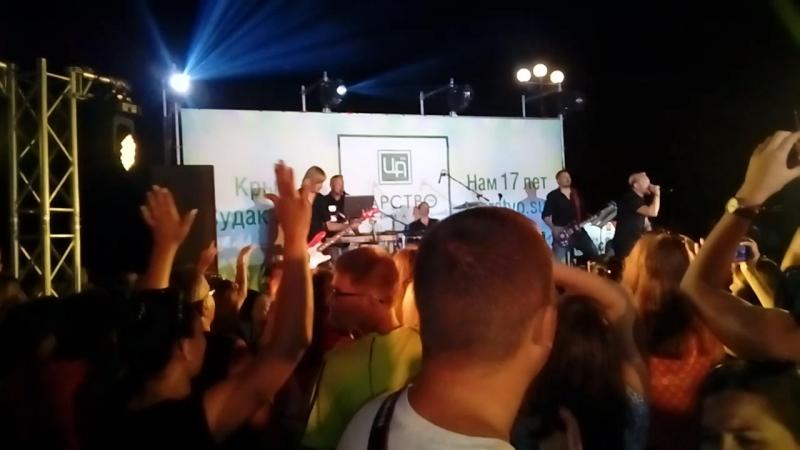 Рок-концерт. Крым. Судак