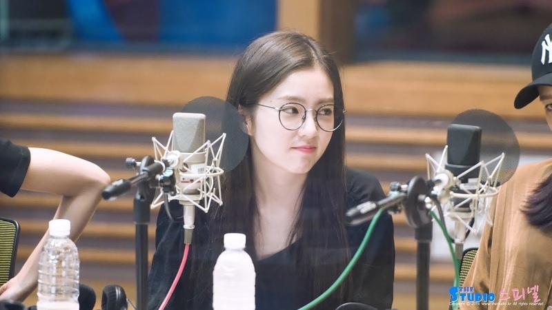 180821 레드벨벳 Red Velvet 아이린 IRENE 파워업 Power Up 리액션 Reaction 4K 직캠 @ 양요섭의 꿈꾸는 라디오
