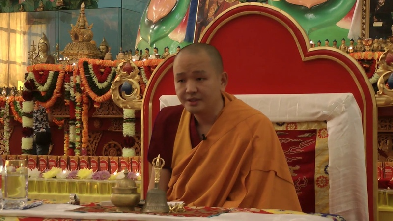 Кунделинг Ринпоче - Учение о 12 чудесных деяниях Будды. (29.05.2018)