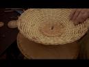 Плетение из лозы Плетем хлебницу фруктовницу в шаблоне Wickerwork