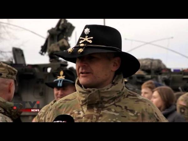 Сша защищает Европу от России! Марш-бросок через Европу боевая колонна армии США на дорогах Балтии