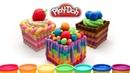 Пластилин Play Doh Как сделать торт плей до Поделки для детей