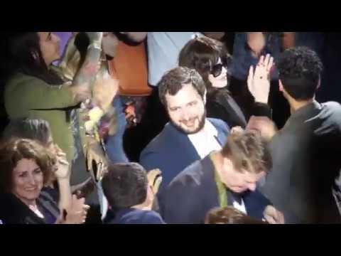 Le monde est à toi - La salle acclame Romain Gavras et léquipe du film