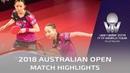 Hayata Hina Ito Mima vs Hashimoto Honoka Sato Hitomi 2018 Australian Open Highlights Final