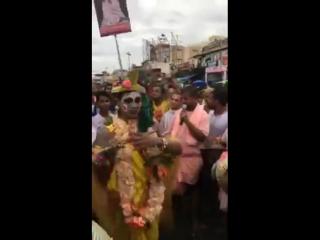 Шрипад БВ Шридхар Махарадж - 14.07.2018, санкиртана с Кришной =) Пури