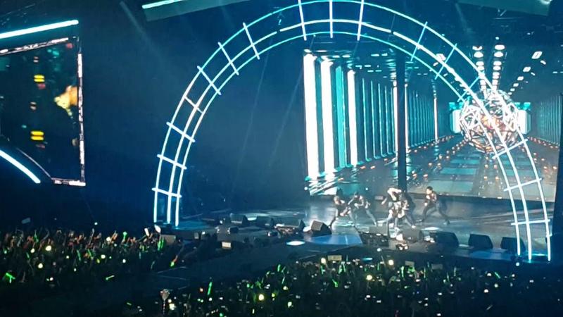 Got7 Hard Carry Eyes on You tour Fancam 하드캐리 Argentina 20180715