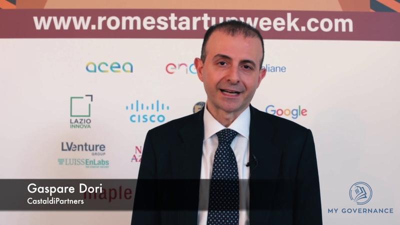 Intervista a Gaspare Dori alla Roma Start up Week, Technology meets Law Firms