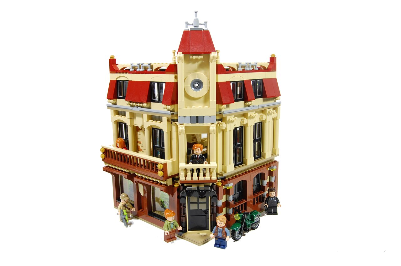 Moc Lego 75930 Alternative Build Antique Corner Store Lego Town