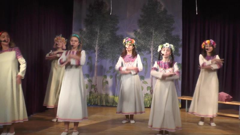 Выпускной спектакль На Завалинке 2018 Перелей вода Таранченко Юлия