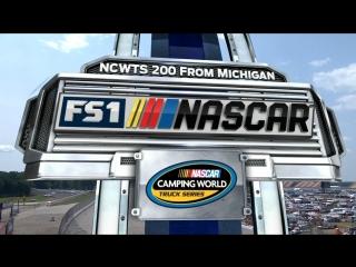 2018 NASCAR Camping World Truck Series - Round 15 - Michigan 200