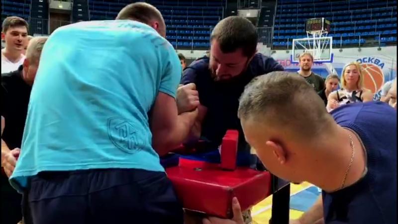 Чемпионат ЗАО по армрестлингу среди любителей (23.09.2018)