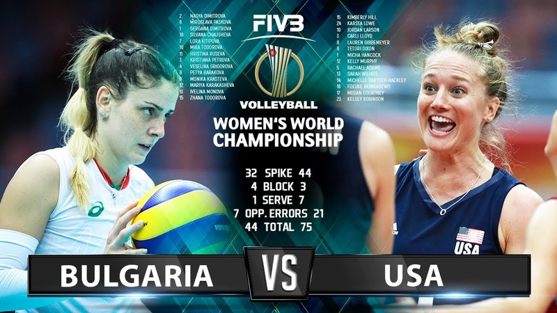 Bulgaria vs USA - Highlights | Womens World Championship 2018