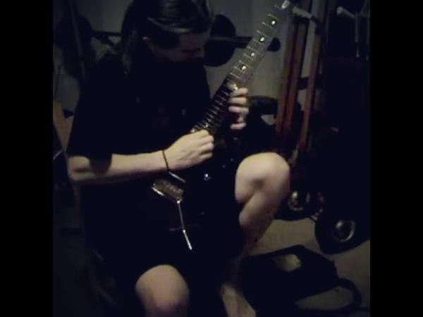 Jason Becker - 'Serrana' Cover (17 year old Jason Richardson 😱)
