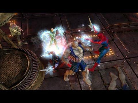 Marvel Ultimate Alliance 2 Walkthrough Part 27 (PS3, X360) Runthrough - [Anti]