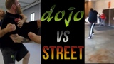 Dojo vs Street - Street Fight Japanese Jujitsu Throw