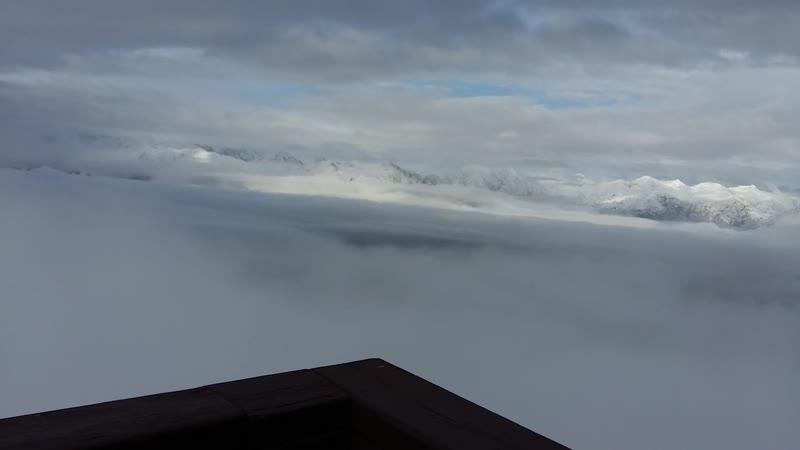 Высота 2200 К сожалению тоже без звука Зато вид аховый