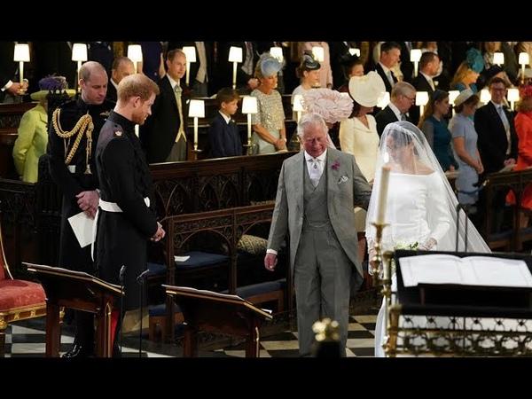 Свадьба принца Гарри и Меган Маркл Самая нетрадиционная церемония в королевской семье