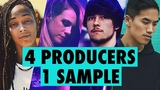 4 PRODUCERS FLIP THE SAME SAMPLE — Episode 3