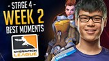 Best Of Overwatch League Week 2 [Stage 4] (Funny & Epic Moments)