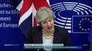 Pressekonferenz mit Theresa May und Jean-Claude Junckeram 12.03.19