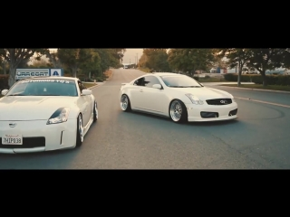 BAGGED 350Z AND G35 TERRORIZE L.A | Perfect Stance