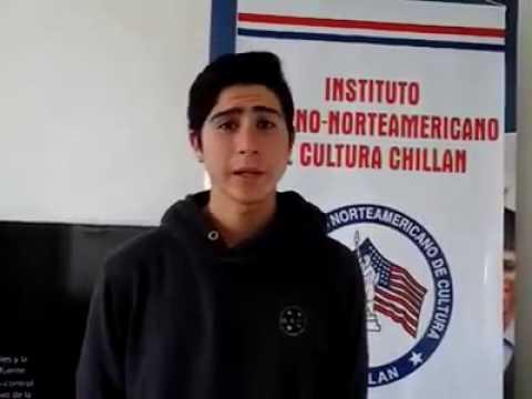 Student4 Access Microscholarship program Instituto Chileno Norteamericano de Cultura Chillán Chile