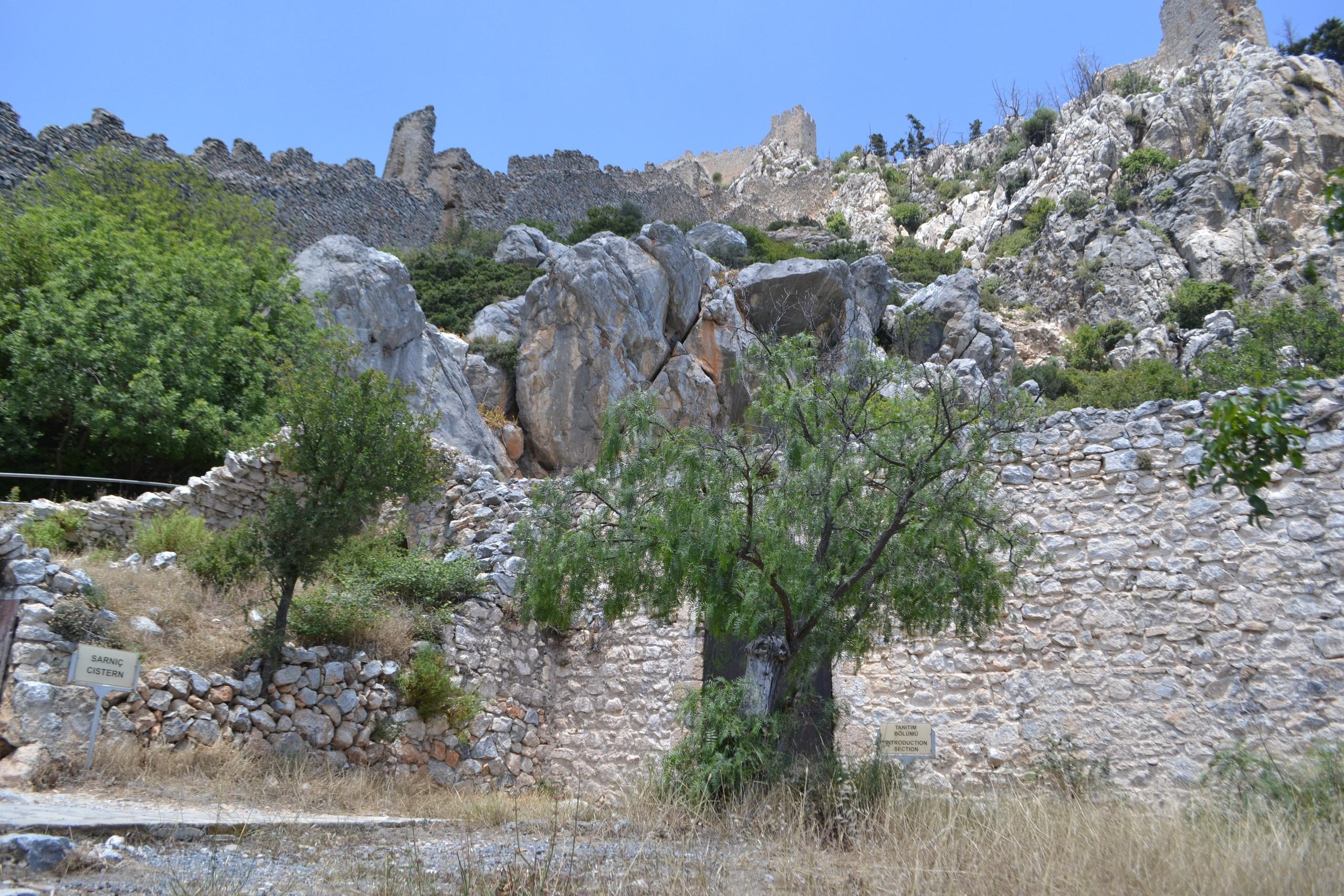 Северный Кипр. Замок Святого Иллариона. (фото). HI8_sdhjgz0