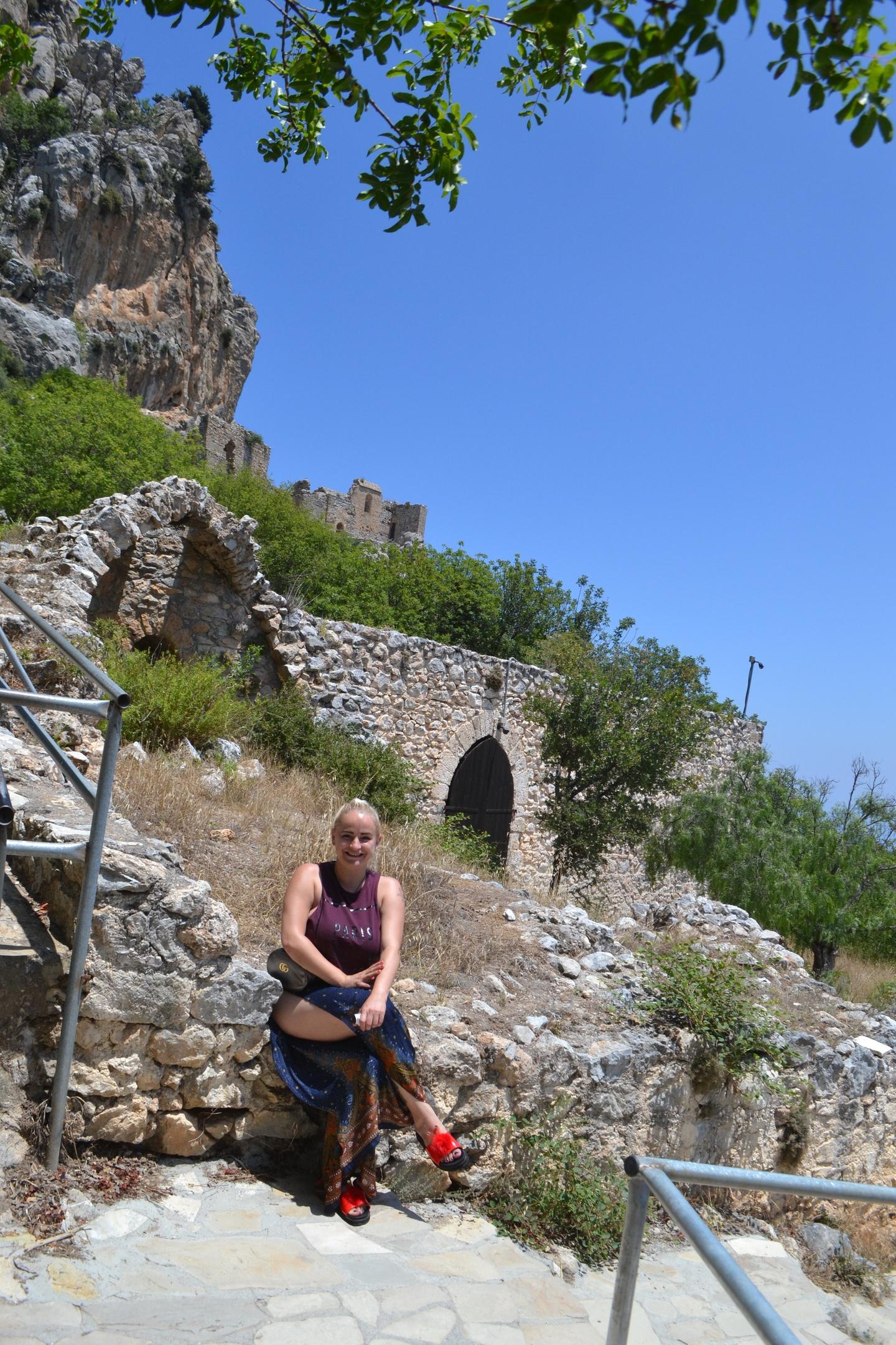 Северный Кипр. Замок Святого Иллариона. (фото). JsBNsSNl56A