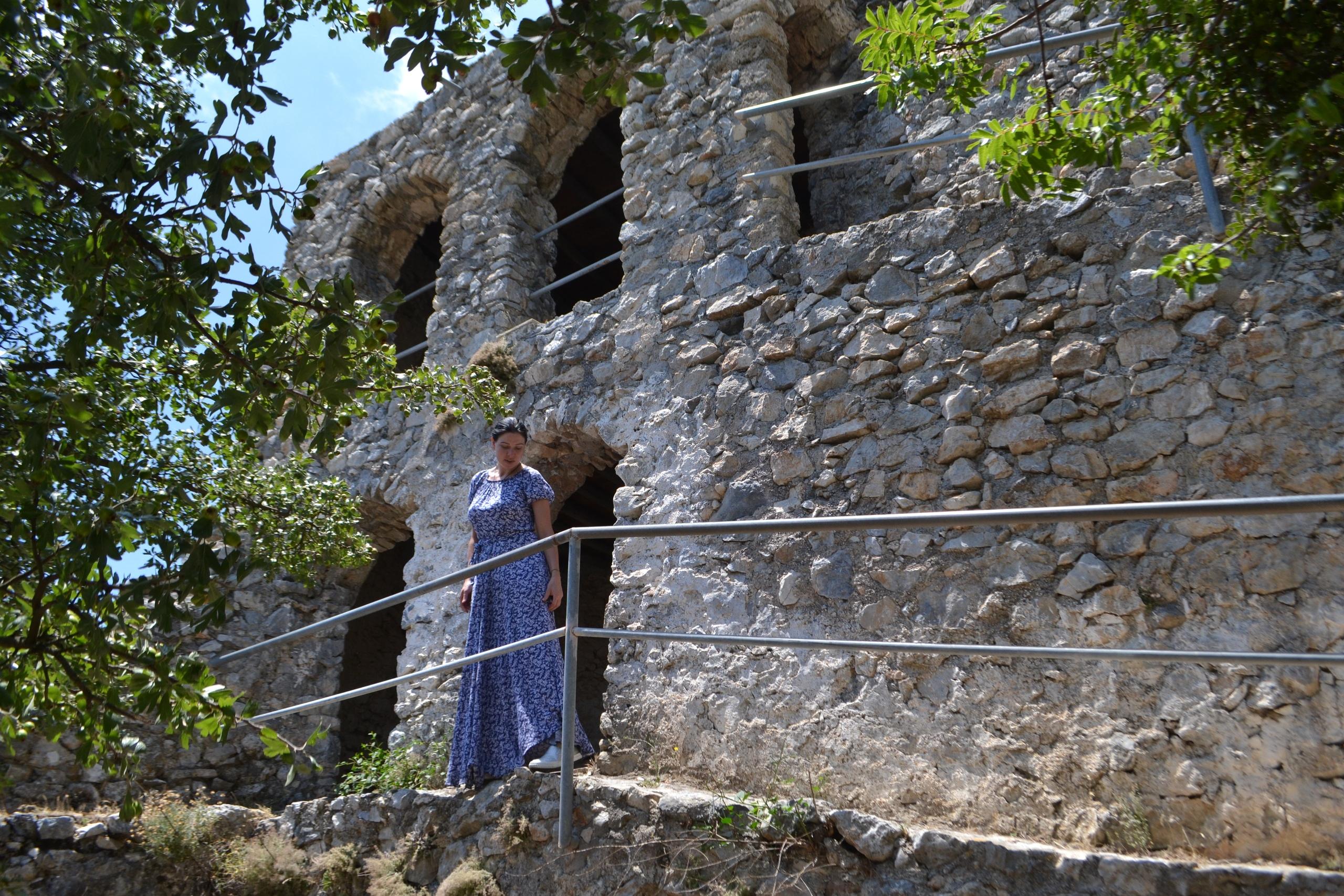 Северный Кипр. Замок Святого Иллариона. (фото). 99G6AwWuUGw