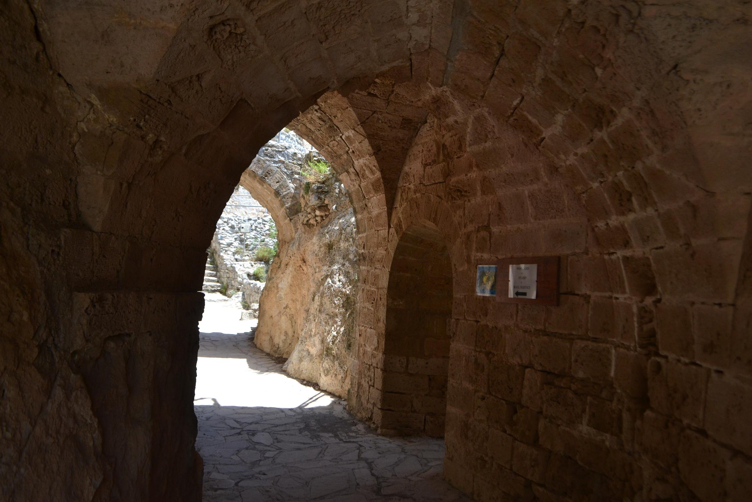 Северный Кипр. Замок Святого Иллариона. (фото). QDqHqHFRaP4