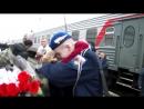 Девушка дождалась парня из армии. Пермь. ДМБ 2017