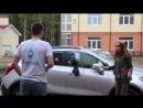 Девушка решила наказать парня за измену =)