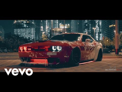 Night Lovell - Deira City Centre / Dodge Hellcat Challenger