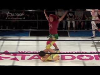 03 Hanan, Saki Kashima  Tam Nakano vs. JAN (Jungle Kyona, Natsuko Tora  Ruaka)