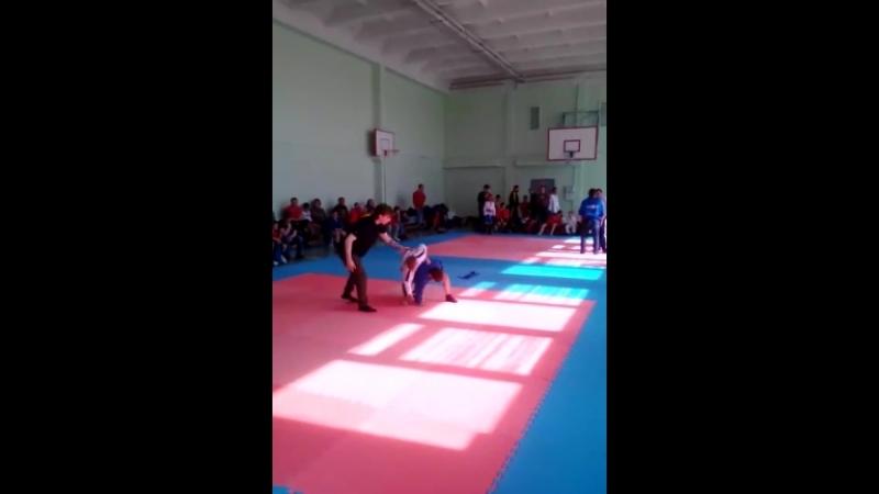 первый бой и пройгрыш